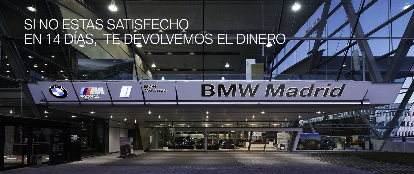 coches BMW Madrid